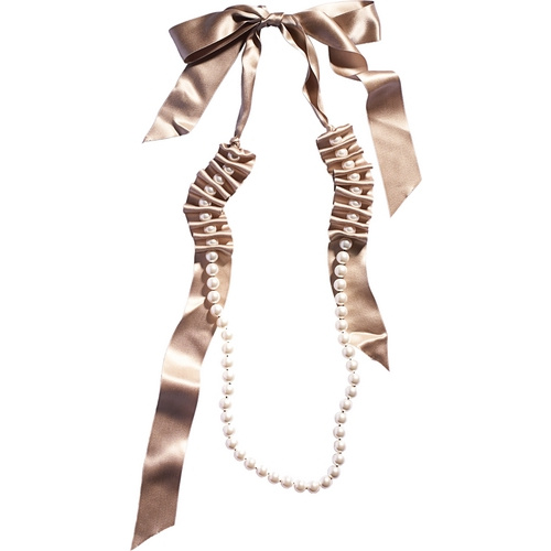 Lanvin Pearl Necklace: Fabby Life